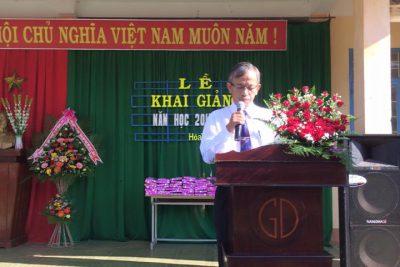 Trường THCS Nguyễn Viết Xuân khai giảng năm học 2017-2018