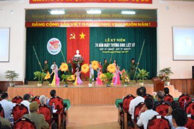 Huyện Krông Pắc mít tinh kỷ niệm 70 năm ngày Thương binh Liệt sỹ